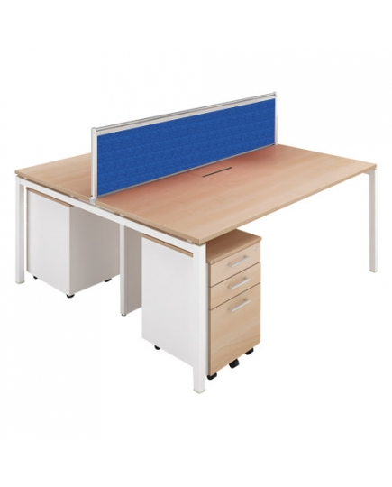 Lex 2 Workstations (with screen panels) 1200