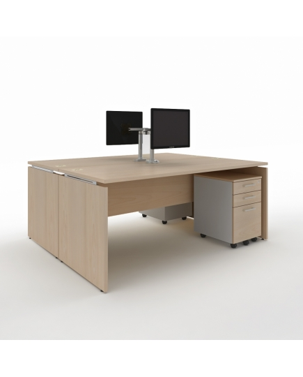 Mente 2 Standard Desks (without screen panels) 1400